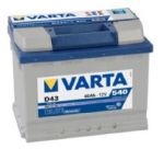 Varta Blue Dynamic 60 a\h  D43